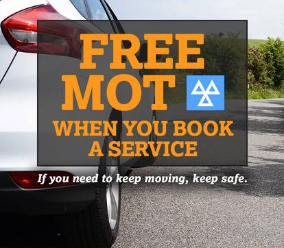 Free MOT with any service